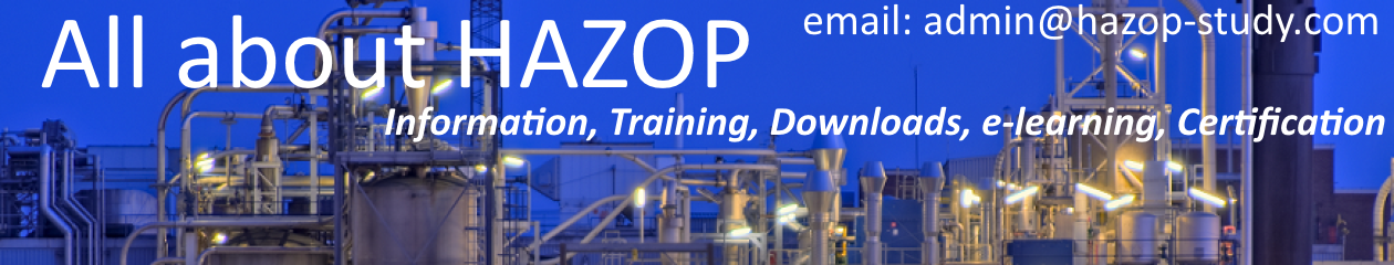 Training, Certification, Online Course in Hazard and Operability